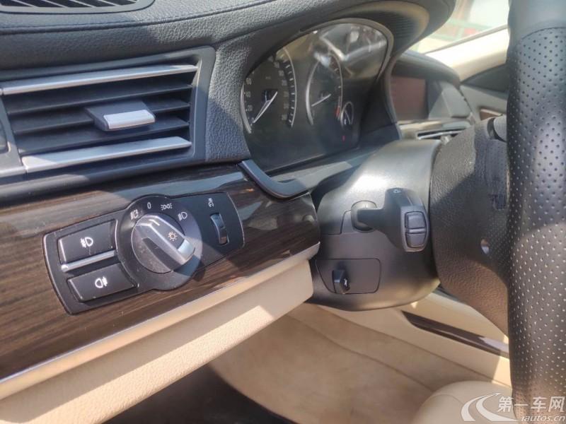 宝马7系 740Li [进口] 2012款 3.0L 自动 汽油