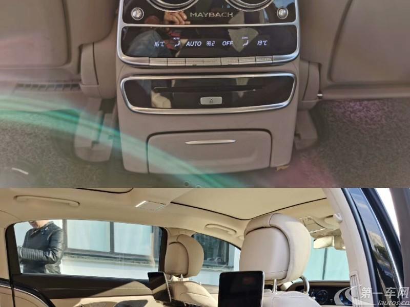 奔驰迈巴赫S级 S450 [进口] 2019款 3.0T 自动