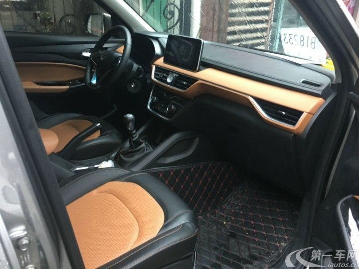 五菱宏光S3 2018款 1.5L 手动 后驱 豪华型 (国Ⅴ)