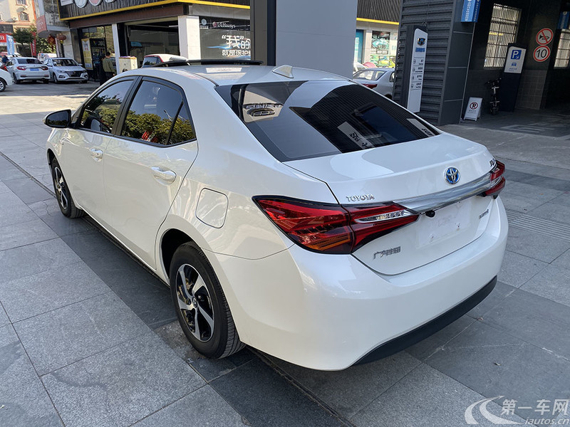 丰田雷凌 双擎 2017款 1.8L 自动 G-S改款精英天窗版油电混合 (国Ⅴ)