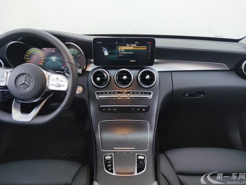 奔驰C级 C260L 2019款 1.5T 自动 (国Ⅵ)