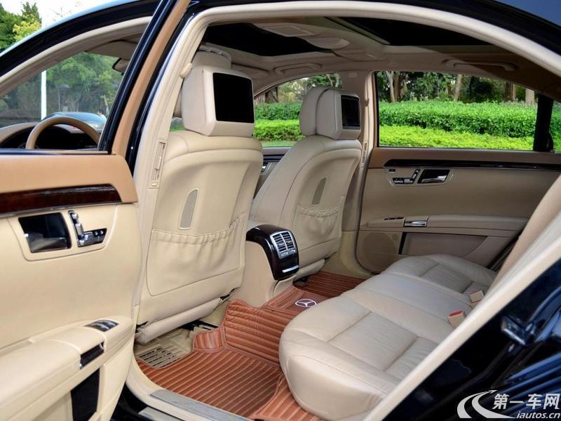奔驰S级 S350 [进口] 2011款 3.5L 自动 汽油 加长版