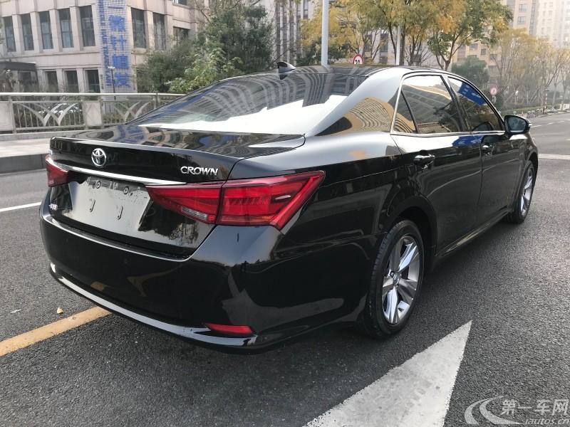 丰田皇冠 2015款 2.5L 自动 智享版 (国Ⅴ)