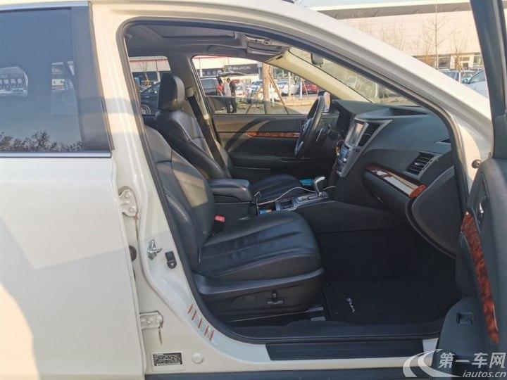 斯巴鲁傲虎 [进口] 2010款 2.5L 自动 四驱 豪华导航版