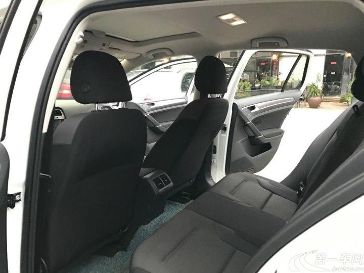 大众高尔夫 2016款 1.6L 自动 汽油 舒适型 (国Ⅴ)