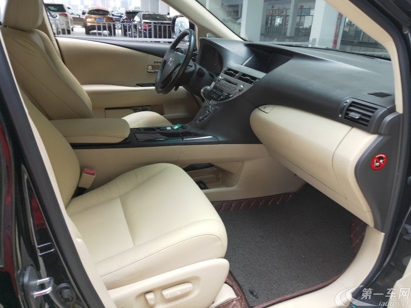 雷克萨斯RX 270 [进口] 2011款 2.7L 自动 前驱 典雅版