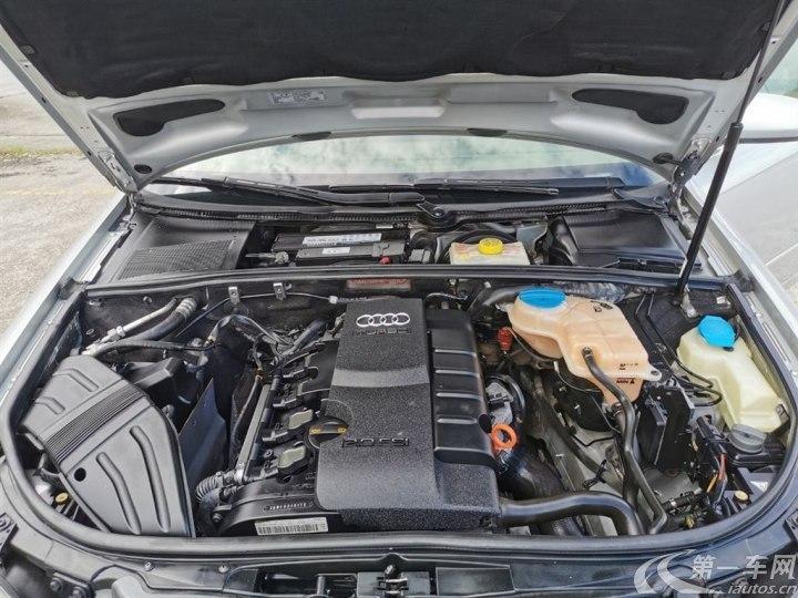 奥迪A4 2007款 1.8T 自动 汽油 标准型 (国Ⅲ)