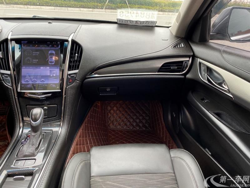 凯迪拉克ATS-L 2015款 2.0T 自动 25T舒适科技加装版 (国Ⅴ)