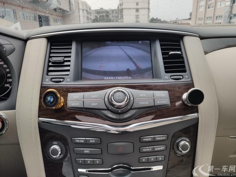 日产途乐 [进口] 2018款 5.6L 自动 四驱 Titanium钛金版中东版平行进口 (欧Ⅴ)