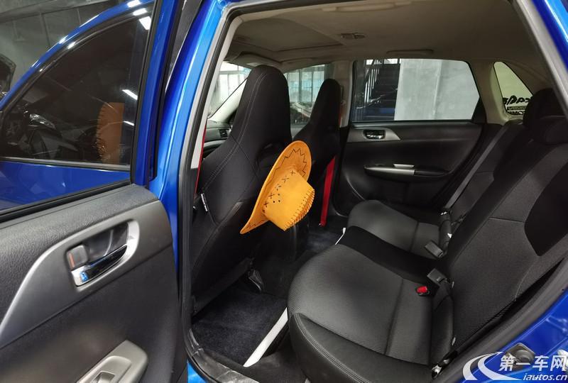斯巴鲁翼豹 [进口] 2011款 2.5T 手动 4门5座三厢车 WRX