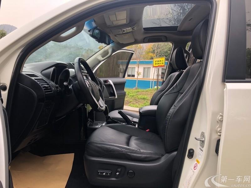 丰田普拉多 [进口] 2014款 2.7L 自动 四驱 豪华版 (欧Ⅳ)