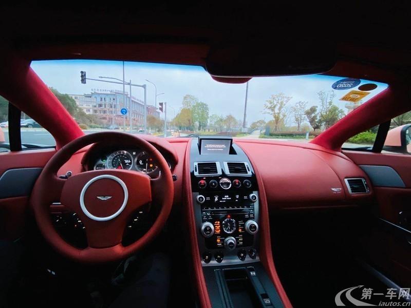 阿斯顿马丁V8 [进口] 2011款 4.7L 自动 Vantage S