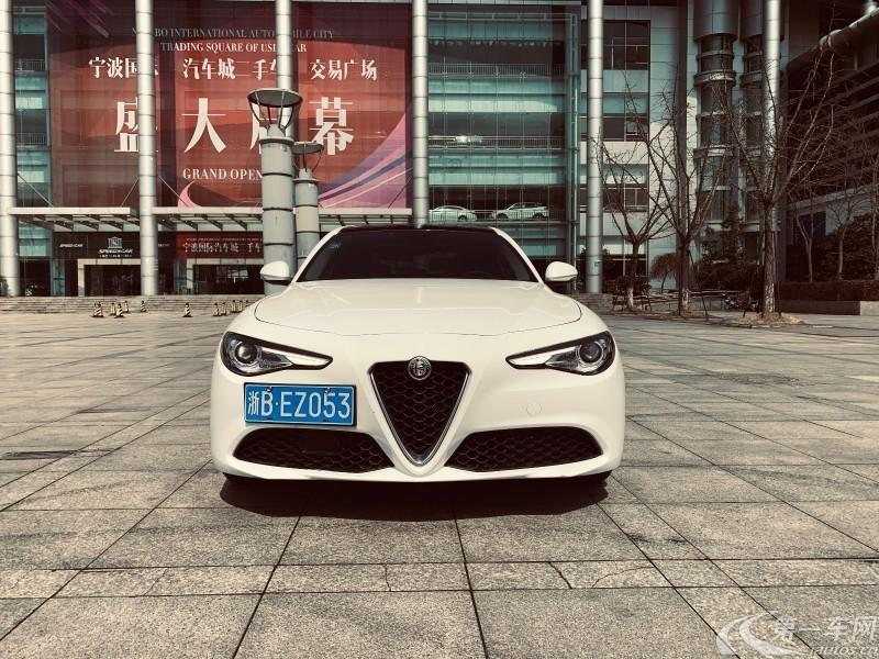 阿尔法罗密欧Giulia [进口] 2017款 2.0T 自动 豪华版