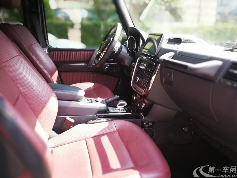 奔驰AMG-GL级 GL63 [进口] 2016款 5.5T 自动 美规版平行进口 (欧Ⅴ)