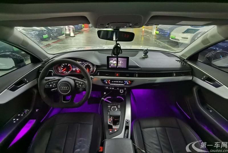 奥迪A4L 2019款 2.0T 自动 进取型 (国Ⅴ)