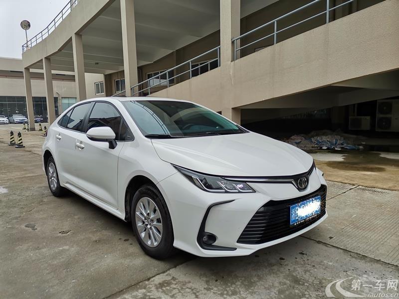 丰田卡罗拉 2019款 1.2T 自动 豪华版 (国Ⅵ)