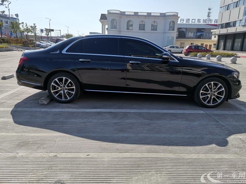 奔驰E级 E200 2018款 2.0T 自动 汽油 运动型 (国Ⅴ)