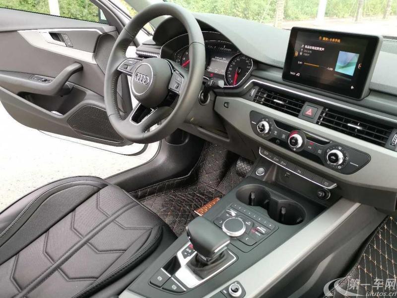 奥迪A4L 2018款 2.0T 自动 30周年进取型 (国Ⅴ)
