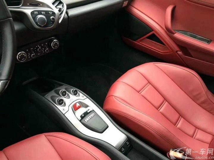 法拉利458 [进口] 2012款 4.5L 自动 Italia中国限量版