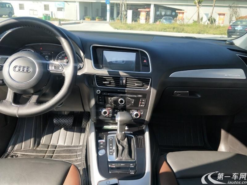 奥迪Q5 2017款 2.0T 自动 四驱 汽油 动感型 (国Ⅴ)