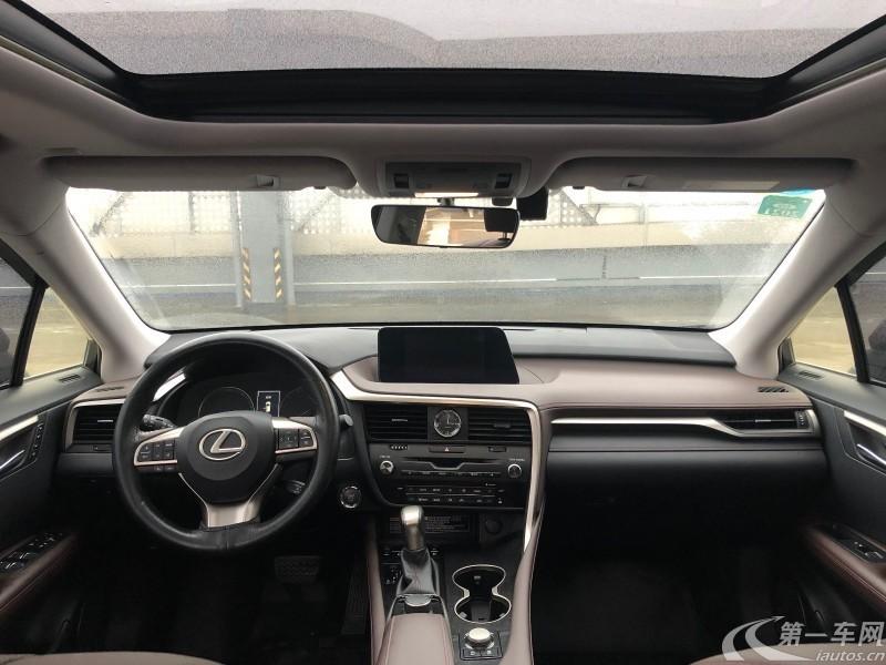 雷克萨斯RX 300 [进口] 2016款 2.0T 自动 四驱 典雅版