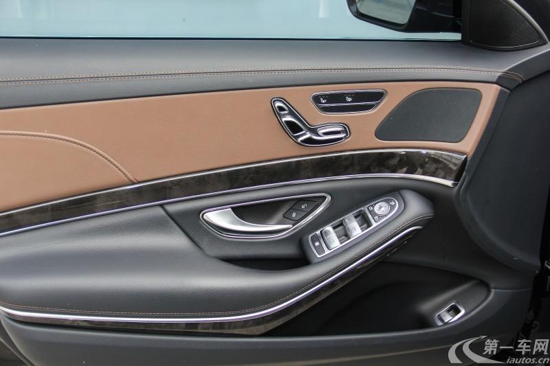 奔驰S级 S400 [进口] 2014款 3.0T 自动 汽油 尊贵型加长版