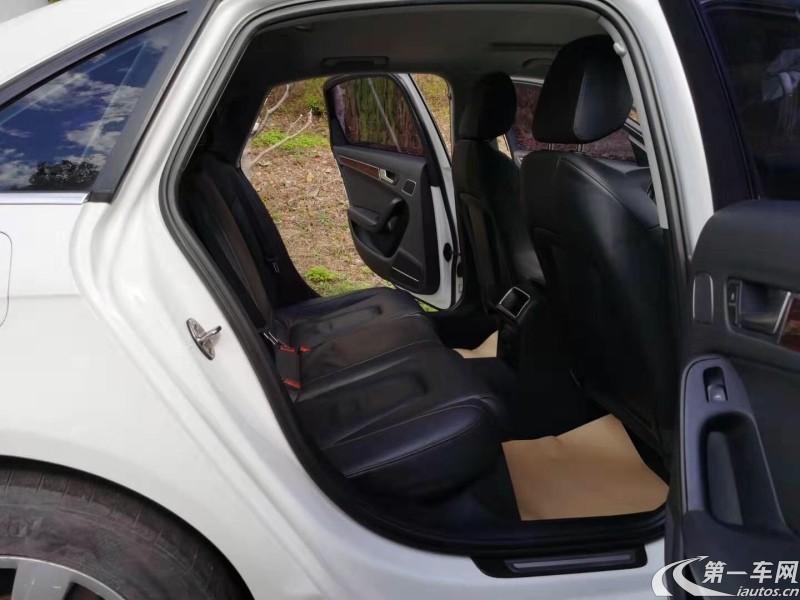 奥迪A4L 2011款 2.0T 自动 尊享型 (国Ⅳ)