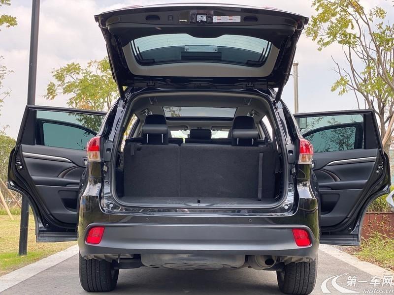 丰田汉兰达 2018款 2.0T 自动 前驱 豪华版 (国Ⅵ)