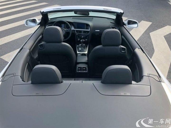 奥迪A5敞篷 [进口] 2012款 2.0T 自动 汽油