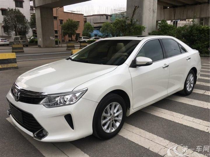 丰田凯美瑞 2016款 2.0L 自动 十周年领先版 (国Ⅴ)