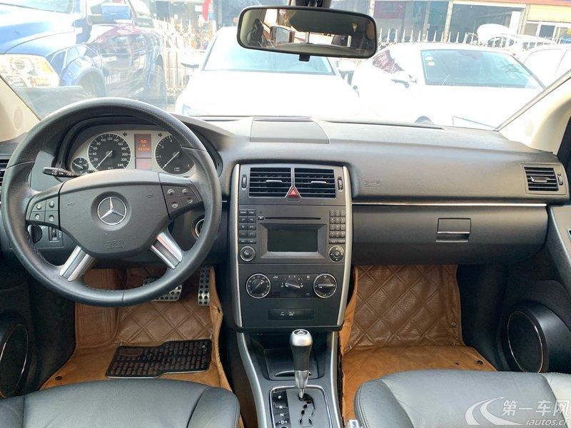 奔驰B级 B200 [进口] 2009款 2.0L 自动 汽油 时尚型