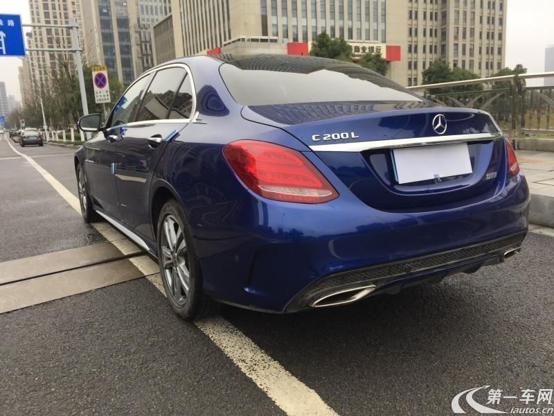 奔驰C级 C200 2017款 2.0T 自动 运动版 (国Ⅴ)