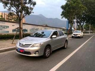 丰田卡罗拉 1.8L 自动 GL-i至酷特装版