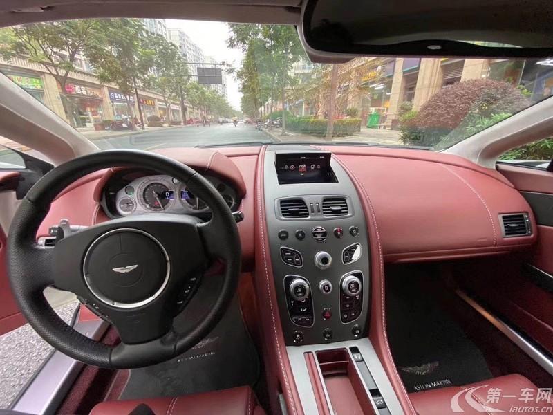 阿斯顿马丁V8 [进口] 2016款 4.7L 自动 Vantage Coupe