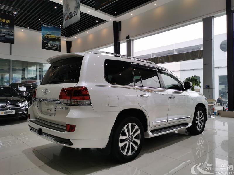 丰田陆地巡洋舰 5700 [进口] 2018款 5.7L 自动 四驱 VX-S限量版中东版平行进口 (欧Ⅴ)