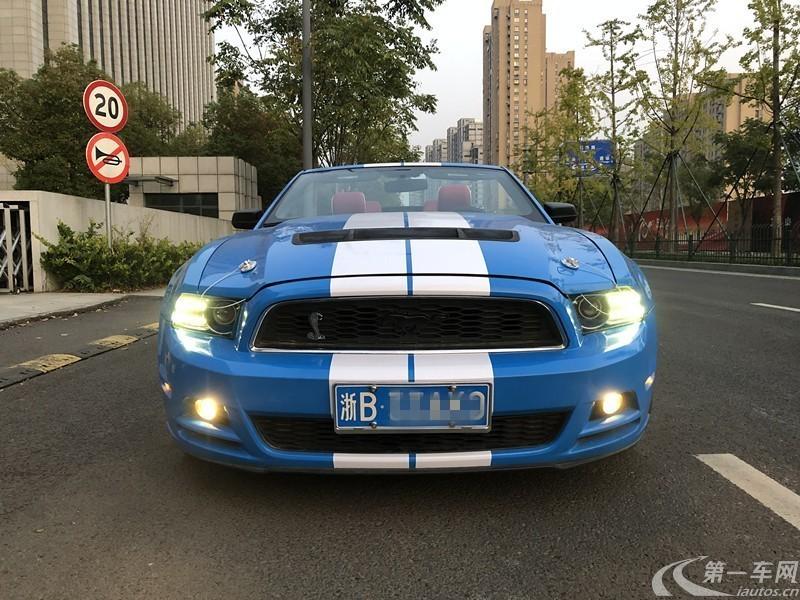 福特野马 [进口] 2013款 3.7L 自动 标准型 (欧Ⅴ)