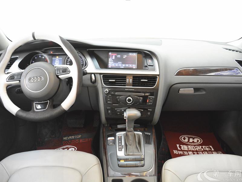 奥迪2013款 2.0T 自动 舒适型 (国Ⅳ)