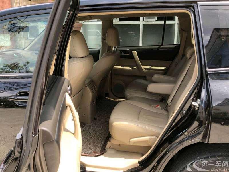 丰田汉兰达 2009款 2.7L 自动 前驱 精英版 (国Ⅳ)