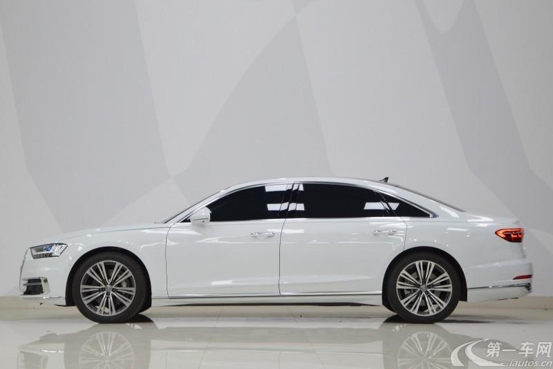 奥迪A8L 55 [进口] 2019款 3.0T 自动 汽油 PLus尊贵型