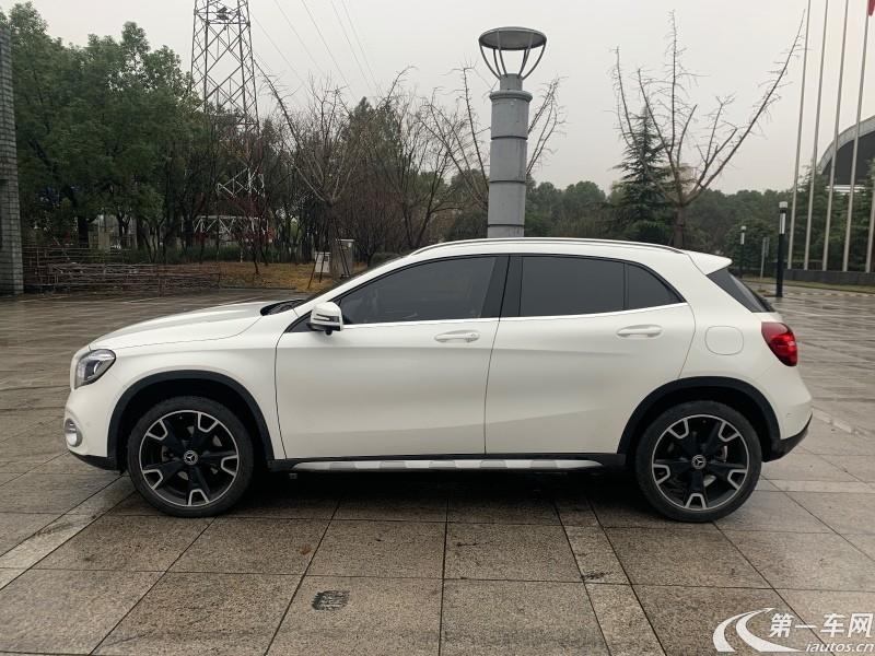 奔驰GLA GLA220 2018款 2.0T 自动 运动型 (国Ⅵ)