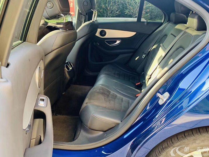 奔驰C200 2017款 2.0T 自动 运动版 (国Ⅴ)