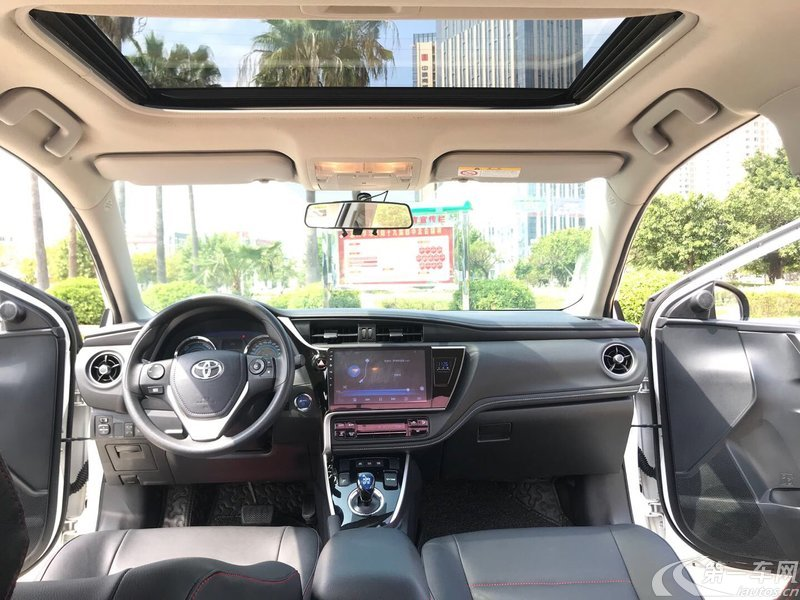 丰田卡罗拉 2017款 1.8L 自动 豪华版 (国Ⅵ)