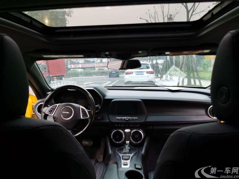雪佛兰科迈罗 [进口] 2017款 2.0T 自动 RS