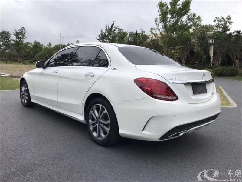 奔驰C级 C200L 2017款 2.0T 自动 改款运动版 (国Ⅴ)