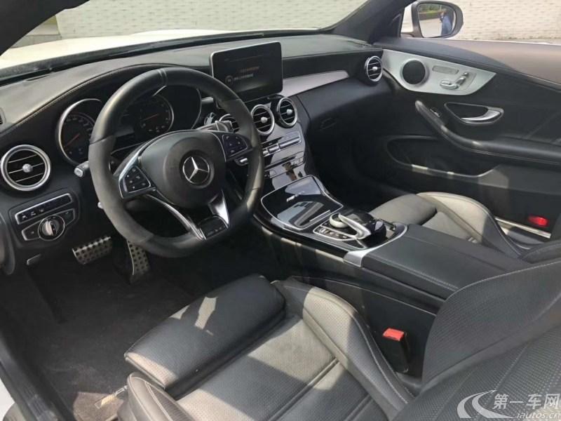 奔驰C63 [进口] 2017款 4.0T 自动