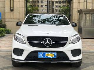 奔驰GLE43 3.0T 自动 轿跑SUV美规版平行进口