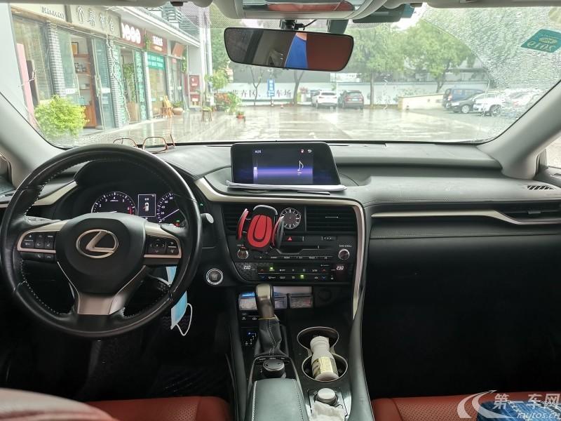 雷克萨斯RX 300 [进口] 2017款 2.0T 自动 前驱 精英版