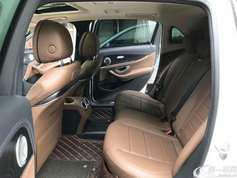 奔驰E级 E300L 2016款 2.0T 自动 汽油 运动时尚型 (国Ⅴ)