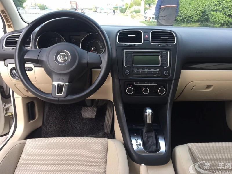 大众高尔夫 2012款 1.6L 自动 汽油 豪华型 (国Ⅳ)