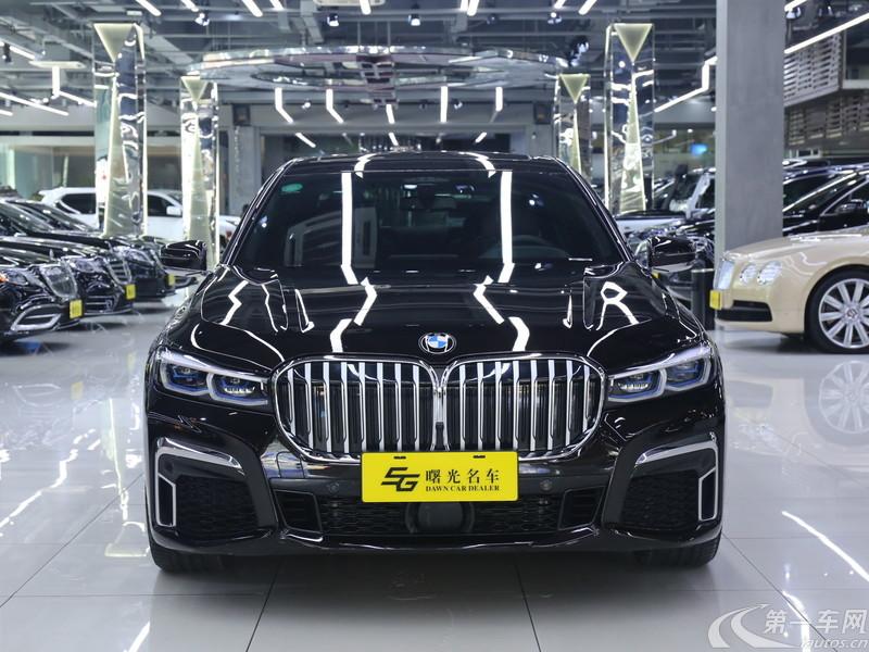 宝马7系 740Li [进口] 2019款 3.0T 自动 汽油 行政型M运动套装